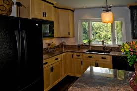 100 Appliances For Small Kitchen Spaces Design With Black Refrigerator Decoration