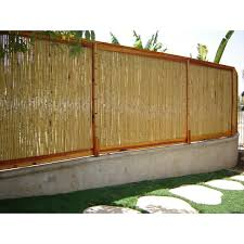 100 Bamboo Walls Ideas 8 Ft W Rolled Fence Panel
