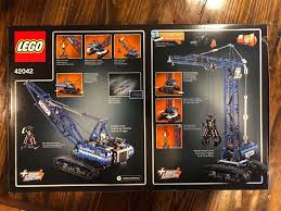 LEGO Technic 42042 Crawler Crane | EBay Ebay Knuckle Boom For Sale Crane Series Lusocom 2004 Freightliner Fl80 Boom Bucket Crane Truck For Sale Auction Bangshiftcom 1957 Chevy Shorty Wagon On Right Now Wrecker Tow Truck 1988 Peterbilt 357 20 Ton Challenger Zacklift 303 1978 Gmc Astro Cabover Semi Ebay Is Adding Visual Search To Its Mobile App Theres An M816 6x6 Recovery Vehicle Trucks Cmialucktradercom 1955 Chevrolet N 4100 Towmater Wrecker Sturdibilt Auctions