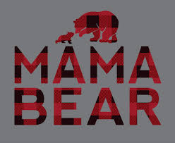 Mama Bear Raglan Tap To Expand