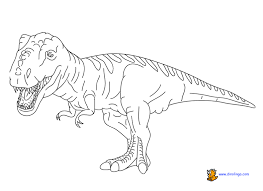 Dinosaur Colouring Pages Free Funycoloring