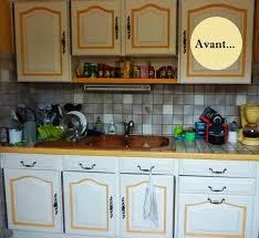 repeindre meuble de cuisine en bois avant après rénover sa cuisine en 2 week end initiales gg