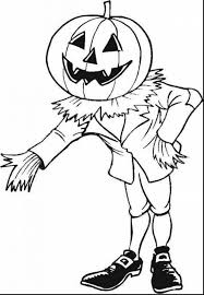 Scary Halloween Coloring Sheets Printable by Magnificent Halloween Pumpkin Coloring Pages Alphabrainsz Net