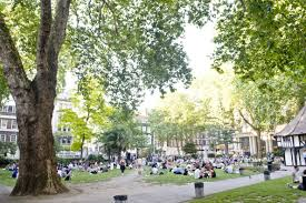 Soho Square Located In The Heart Of Central London Is A Popular Lunch Spot PA