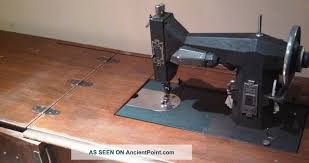 Vintage Kenmore Sewing Machine In Cabinet by Antique 1927 Sears Roebuck Kenmore Rotary Sewing Machine Orig Wood