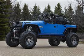 Lifted 4 Door Jeep Truck. Latest Jeep Wrangler Blue Crush With ...