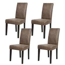 chaises de salle à manger design meuble salle a manger pas cher 2 albus lot de 4 chaises de