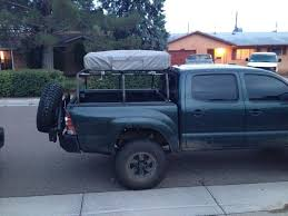 bed rack for roof tent tacoma world