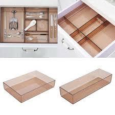 küche schrank schubladen organizer stoffbox gewürz teller schale