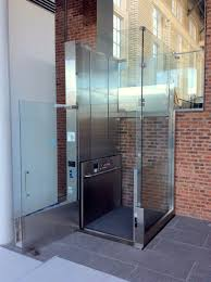 Acorn Chair Lift Commercial by Custom Glass Lifts Installed Recently By Mobility Elevator