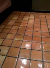 boston restaurant floor after tile repair and refinishing clean