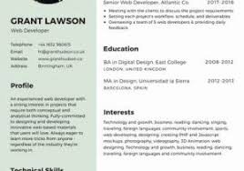 Canva Resume Templates From