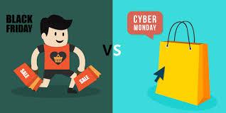Black Friday And Cyber Monday Black Friday Vs Cyber Monday Smoolis