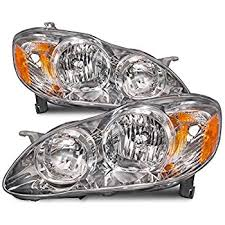 toyota corolla ce le replacement headlight assembly