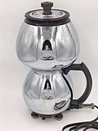 Image Is Loading Vintage Sunbeam Coffeemaster C20B Electric Vacuum Coffee Pot
