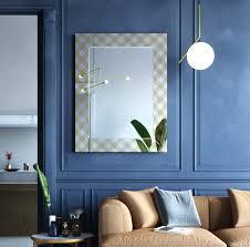 casa padrino designer wandspiegel bronze 98 x h 125 cm wohnzimmer spiegel garderoben spiegel luxus möbel