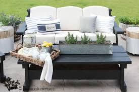 Sams Patio Furniture Covers by Outdoor Patio Furniture Makeover The Wood Grain Cottage