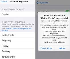 5 More iOS 8 Keyboards That Support GIFs Fancy Fonts & Themes
