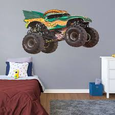 100 Monster Truck Wall Decals Dragon Huge Officially Licensed Jam Removable Decal