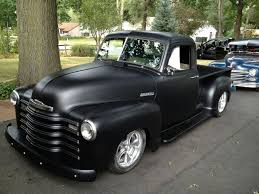 100 53 Chevy Truck For Sale Black 1951 Pickup In For