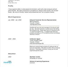 Sample Resume No Work Experience