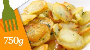 comment cuisiner des pommes de terre recette de pommes de terre sautées 750 grammes