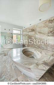luxusbad mit marmorelementen up of luxury bathroom