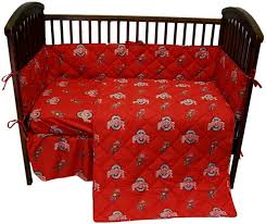 Ohio State Buckeyes 5 piece Baby Crib Set SportsFan Outlet