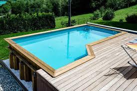 photos piscines bois bluewood de belles réalisations