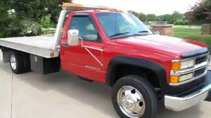 100 1998 Chevy Truck For Sale Silverado 3500HD Century Roll Back Wrecker 77k Miles For