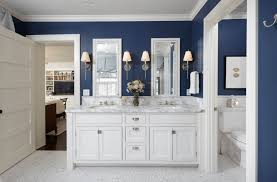 blue bathroom accessories rugs vanityops wall decor royal sets