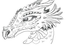 Evil Dragon Coloring Pages For Adults Printable Color Tales Baby Difficult Full Size