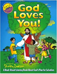 A Read Aloud Coloring Book About Gods Plan For Salvation