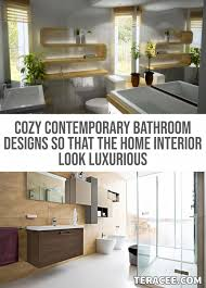 30 Cozy Contemporary Bathroom Designs So That The Home Interior Look ... 30 Cozy Contemporary Bathroom Designs So That The Home Interior Look Modern Bathrooms Things You Need Living Ideas 8 Victorian Plumbing Inspiration 2018 Contemporary Bathrooms Modern Bathroom Ideas 7 Design Innovate Building Solutions For Your Private Heaven Freshecom Decor Bath Faucet Small 35 Cute Ghomedecor Nz Httpsmgviintdmctlnk 44 Popular To Make