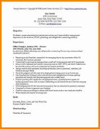 Cv Objectives Examplesresume Objective Examples 1