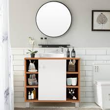 bad unterschrank 6 ablage fächer badezimmer