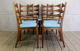 Mens Valet Chair Canada by Lane Rhythm Set Of 6 Cat Eye Dining Chairs Mid Century Modern