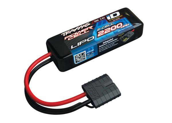Traxxas LiPo Battery - 2200mAh, 7.4V