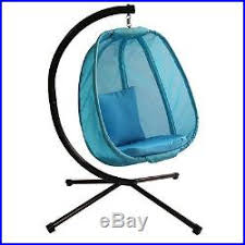 Hanging Chair Indoor Ebay by Hanging Hammock Chair Egg Stand Yard Indoor Outdoor Patio Swing