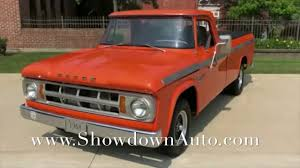 100 1968 Dodge Truck 100 Pickup For Sale YouTube