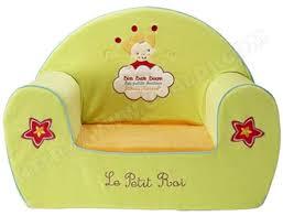 fauteuil enfant babycalin fauteuil club petit roi pas cher