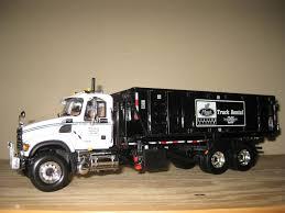 100 Garbage Truck Rental Mack 0088 1st Gear Mack CV Granite Rolloff A