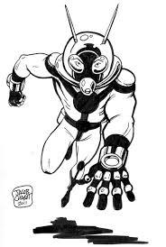 Ant Man Scott Lang Sketch By Jacob Chabot