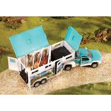 Breyer Stablemates Truck & Gooseneck Horse Trailer - Walmart.com John Deere Toys Monster Treads Pickup Hauler With Horse Trailer At Breyer Stablemates Animal Rescue Truck The Play Room 5356 Pickup And Gooseneck Ebay Giddy Up Go 701736 Dually Identify Your Accsories 132 Model By Loading Mini Whinnies Horses In Ves Car Drama At Show