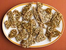 Roasted Shelled Pumpkin Seeds Recipe by Pumpkin Seed Brittle Recipe Alton Brown Food Network