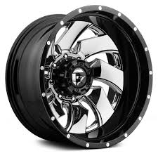 FUEL® D240 DUALLY CLEAVER 2PC Wheels - Gloss Black With Chrome ... Xd Series Xd201 Grenade Wheels Black And Milled Center With Platinum Rim Brands Rimtyme 2013 Peterbilt 388 Chrome Rims For Trucks Rbp 94r Things To Consider When Shopping For Truck Get Latest Vehicle 2crave Extreme Offroad Midwest Cadillac Escalade Custom Tire Packages Sale Rbp 94r Inserts Featured Builds Elizabeth Fuel D211 Triton 2pc Cast Center Face