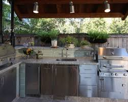 outdoor kitchen lighting houzz