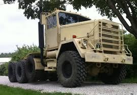 100 Military Semi Truck 1979 Am General M920 20 Ton Tractor M35A2 M916