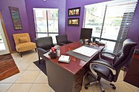 Leasing Office Desk Area At Canyon Crest Views Apartments In Riverside CA