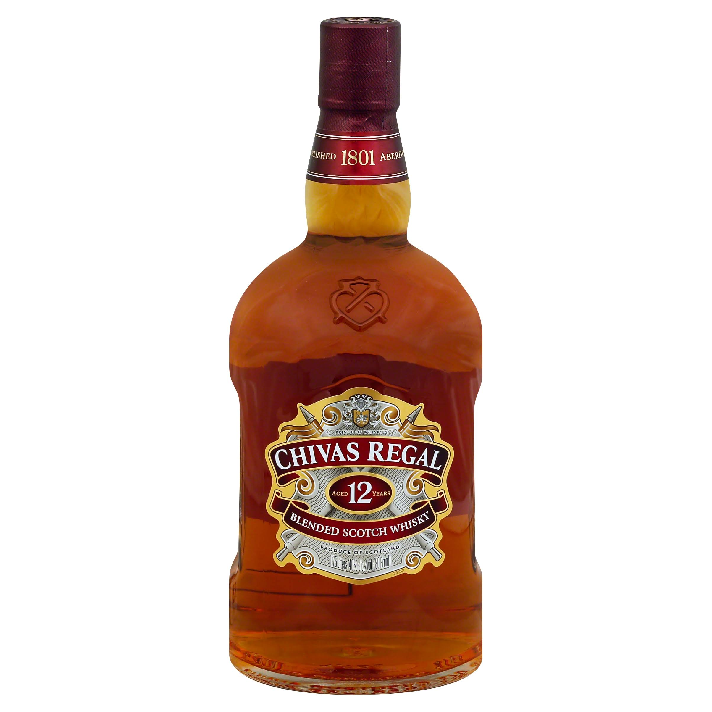 Chivas Regal Premium Blended Scotch Whisky